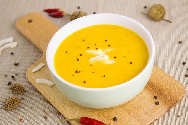 manger sainement - manger équilibré - repas équilibré - soupe de légumes - légumes