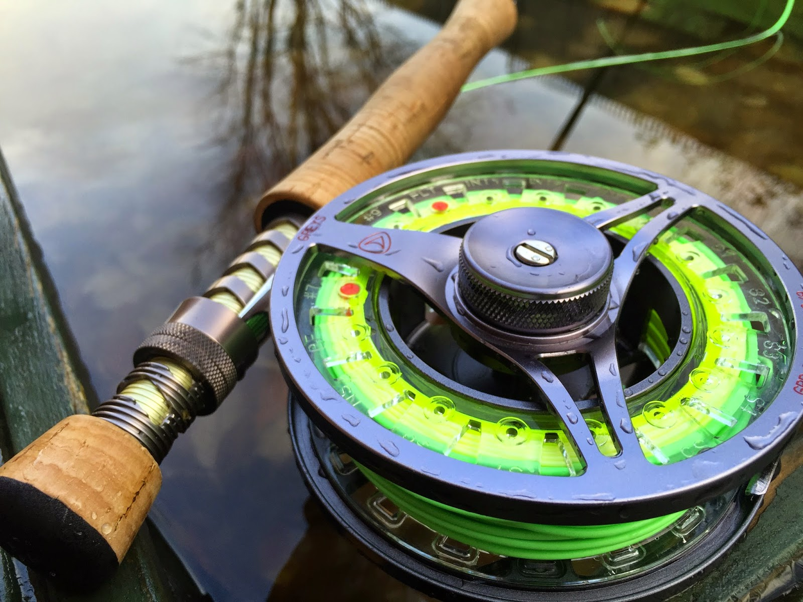 First look the new greys gts700 fly reel for Best fly fishing reels