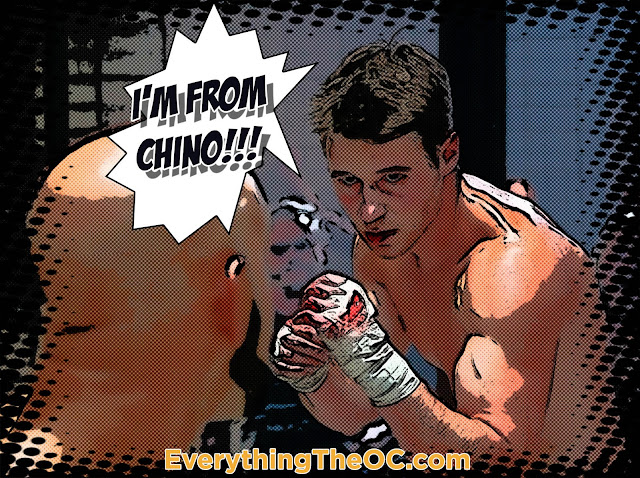 ryan atwood fighting in cage the oc