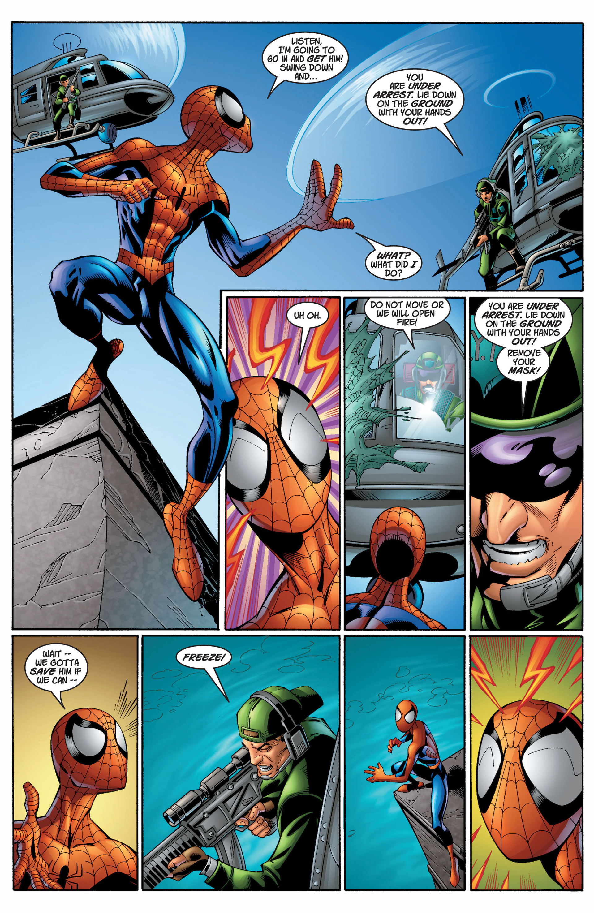 Read online Ultimate Spider-Man (2000) comic -  Issue #7 - 15
