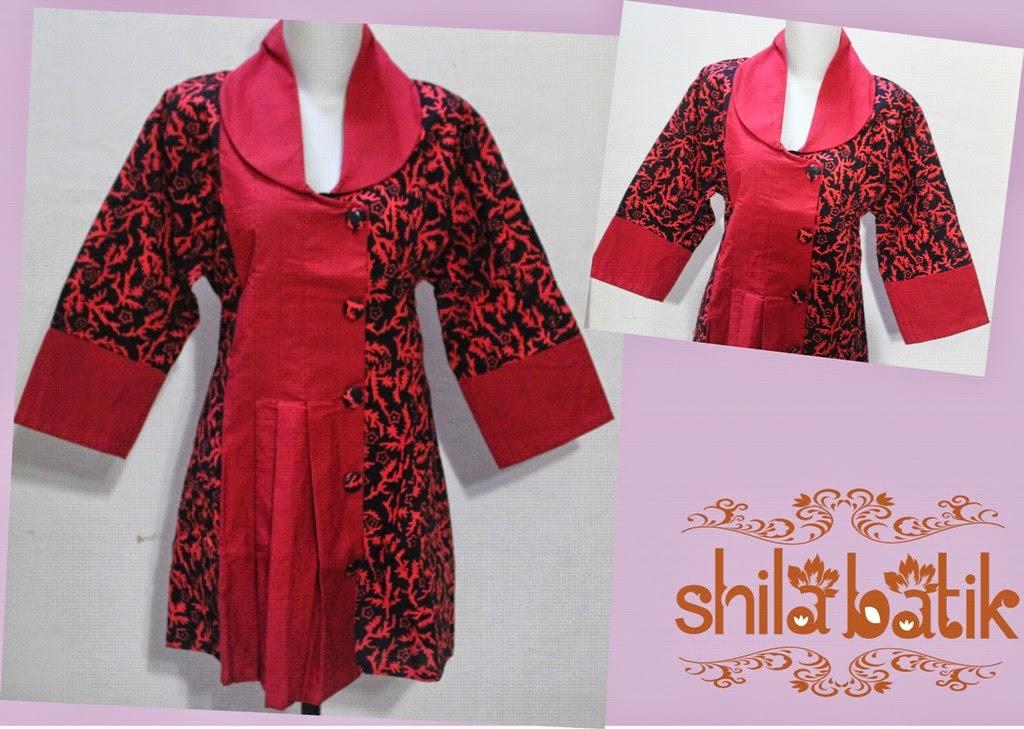 15 Model Baju Batik Ibu Hamil Cantik Simple Dan Modern Model Baju