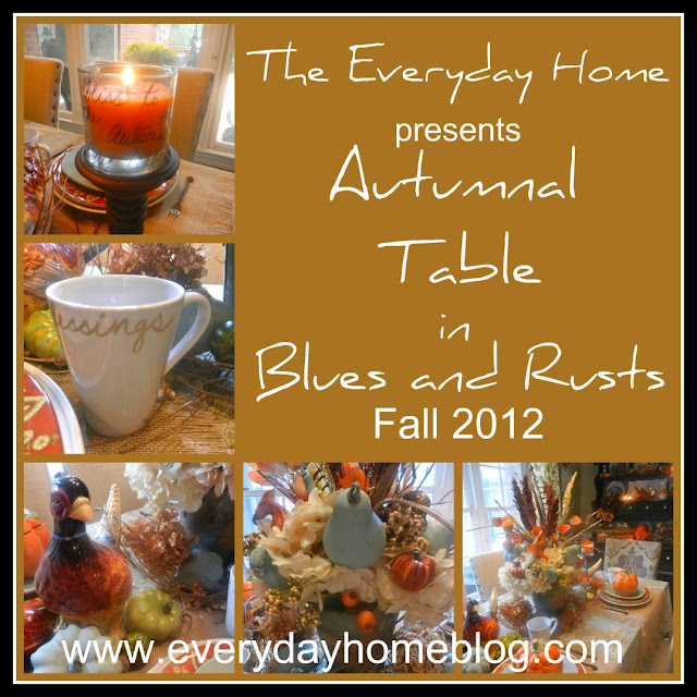 pumpkins, pheasants, Fall, berries, millet, candles, Autumn, Table, Tablescape, dishes