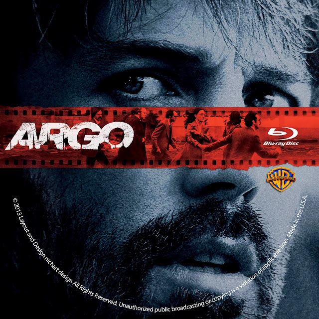 Argo Bluray Label