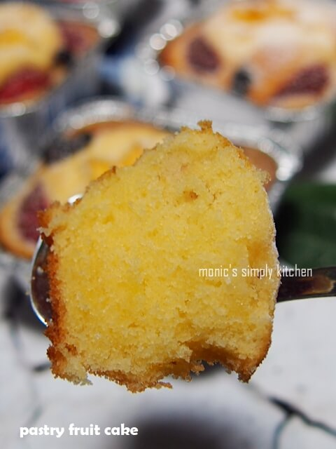 resep pastry fruit cake