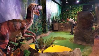 The last Mr Mulligan's course we played was the new Lost World Golf layout in Cheltenham