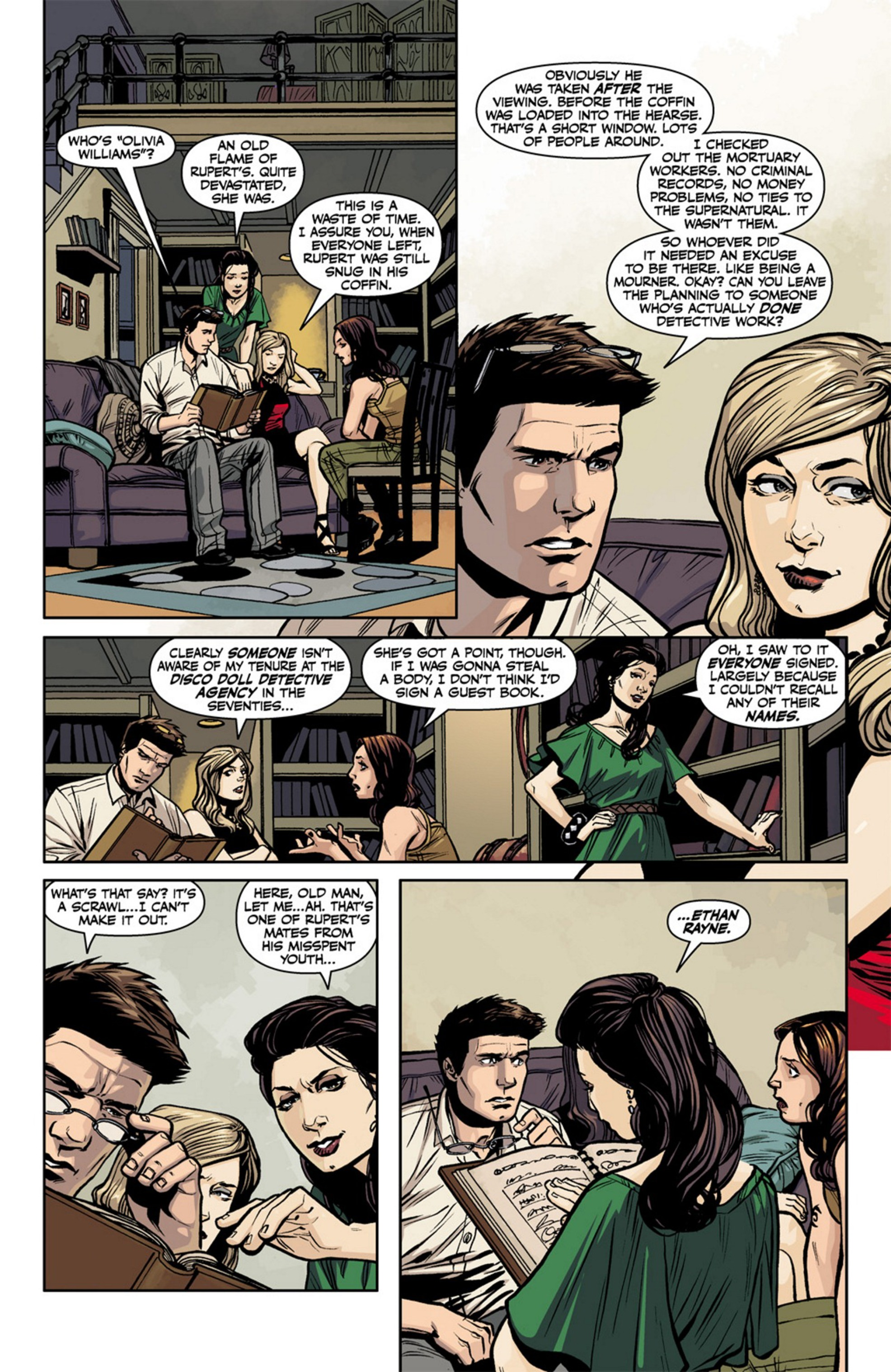 Read online Angel and Faith comic -  Issue #17 - 14