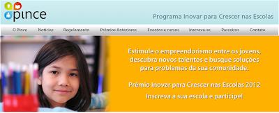 PINCE –  Programa Inovar para Crescer nas Escolas
