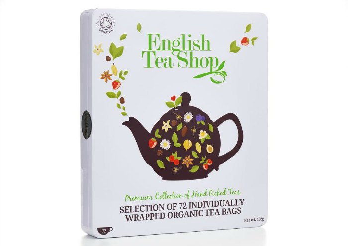 Celebrate National Tea Day with English Tea Shop's Luxury Organic Collection
