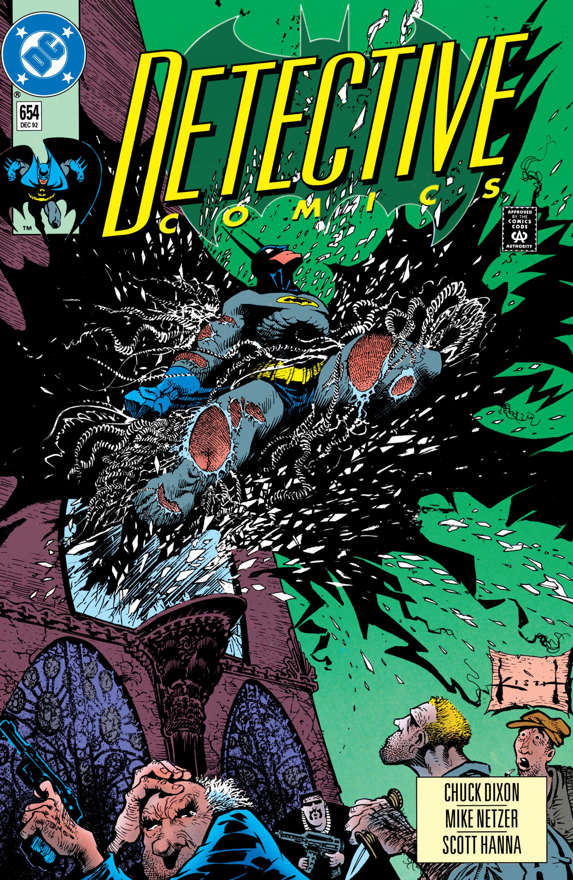 Detective Comics (1937) 654 Page 1