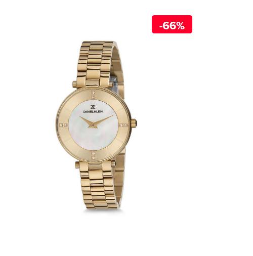 Ceas auriu dama elegant Daniel Klein Classic DK011025A-02