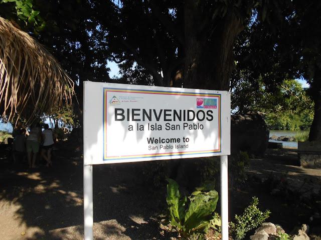 San Pablo Island on Lake Nicaragua