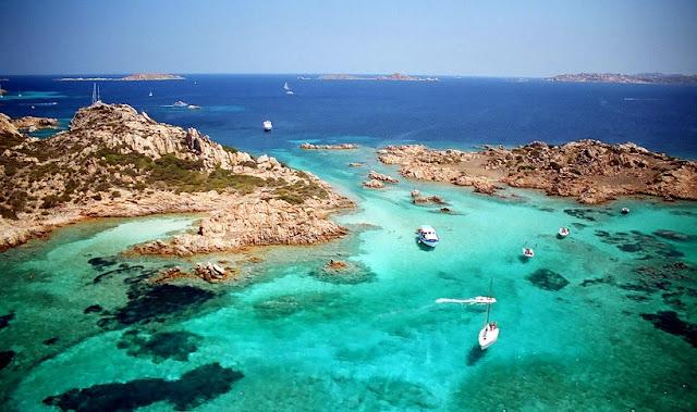 Arquipélago La Maddalena em Sardenha