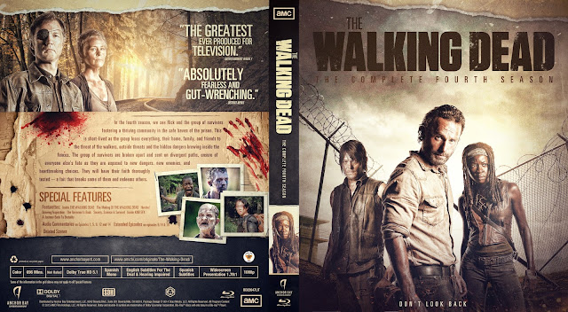 The Walking Dead Season 4 Bluray Cover
