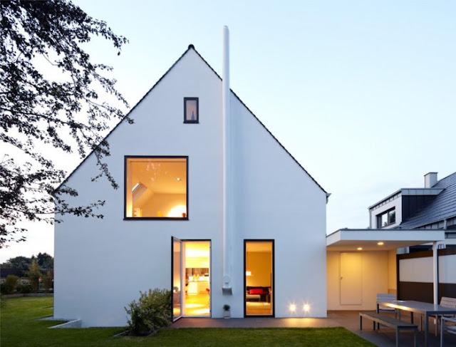 rumah minimalis scandinavian