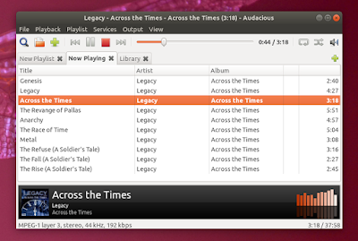 Audacious 3 9 Released With Qt User Interface Enhancements