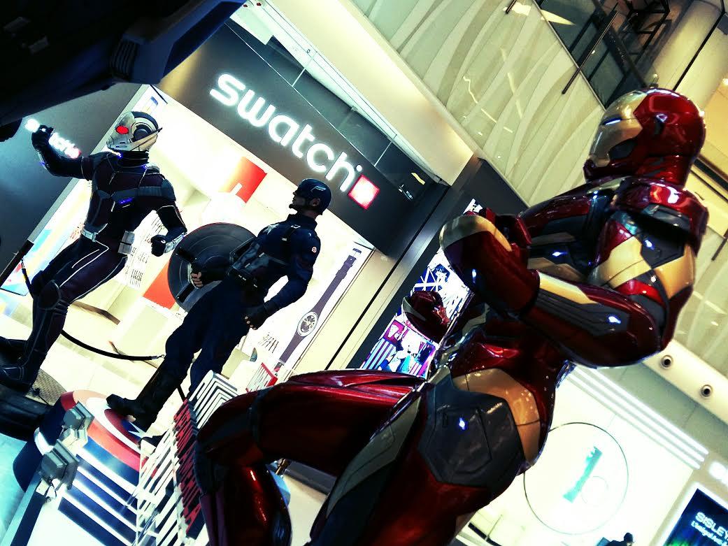 逍遙煉心谷: 鐵甲奇俠才是主角的《美國隊長3》