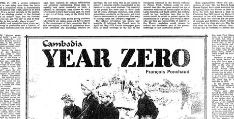 pol pot and the year zero On this day in 1975, pol pot's khmer rouge captured cambodia's capital phnom penh and declared revolutionary year zero after five years of bloody civil war, the conquering communist guerrillas were welcomed as heroes by a relieved population desperate for peace - but the relief was to be short-lived.