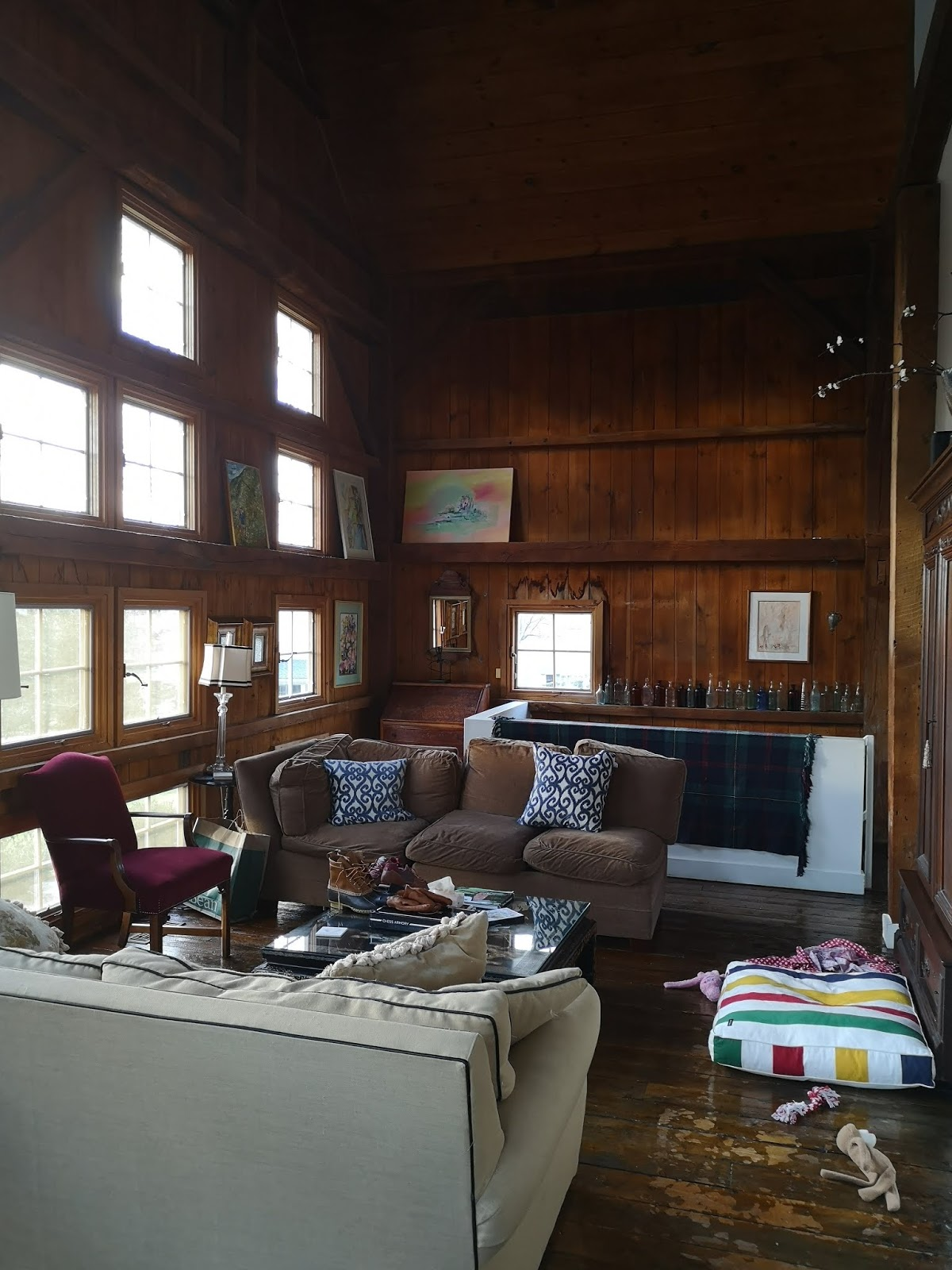 Our Converted Barn Airbnb Rental in Fairfield, Connecticut