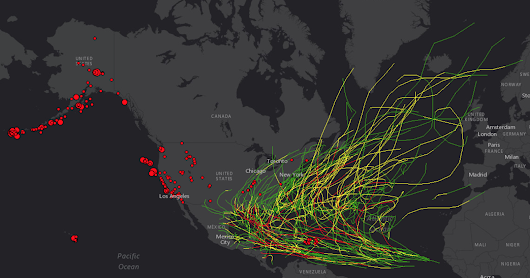 Historic Earthquakes and Hurricanes in the US