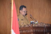 <b>Walikota Sampaikan Rancangan Awal RPJMD Kota Bima Tahun 2018-2023 untuk Dibahas DPRD</b>