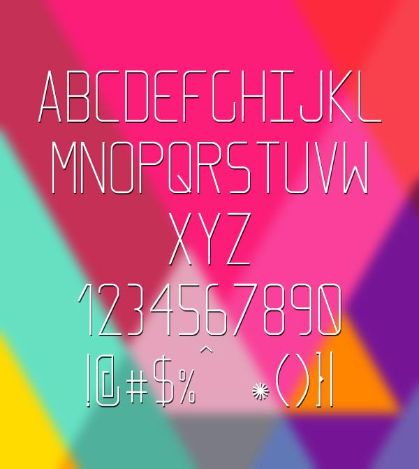 Font Terbaru Untuk Desain Grafis - Elcsa Font Letters