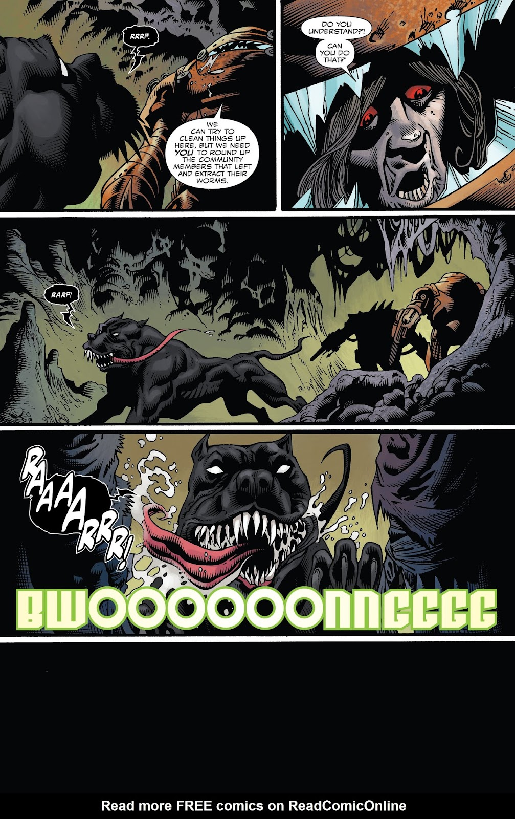 Read online Web of Venom: Unleashed comic -  Issue # Full - 24