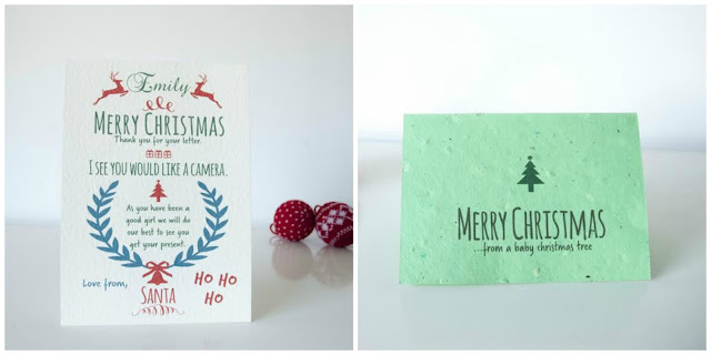 Personalised Santa Letters and Christmas Cards