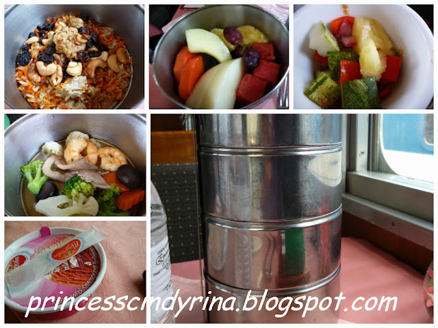 lunch in tiffin box