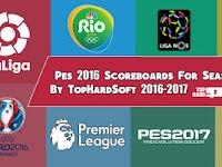 PES 2016 Scoreboard Pack Musim 2016/2017