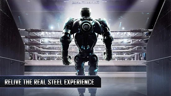 Real steel hd Apk Mod+Data Free on Android Game Download