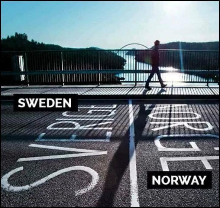 8 Sempadan Negara Yang Unik