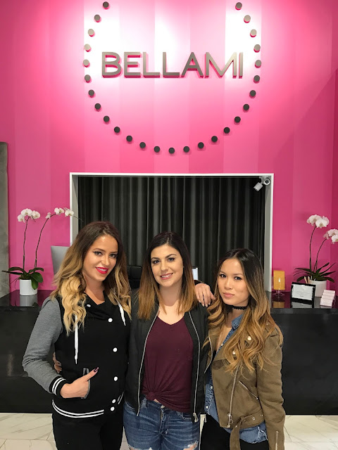 Bellami hair store located in West Hollywood