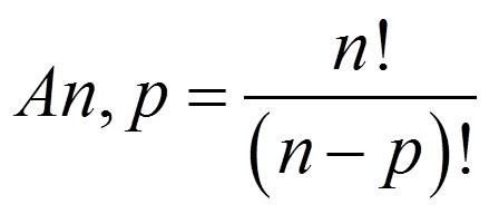 Resultado de imagem para formula de arranjo
