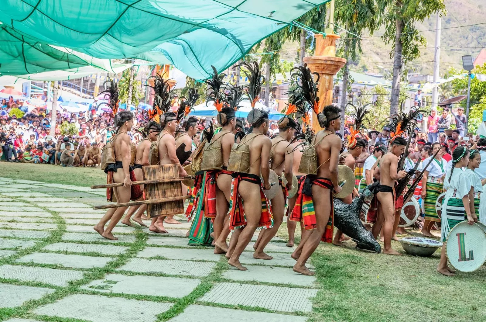 G Strings and Pasiking 13th Lang-Ay Festival Bontoc Mountain Province Cordillera Administrative Region Philippines