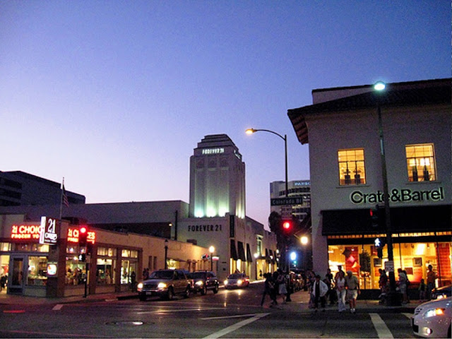 Old Pasadena in Pasadena