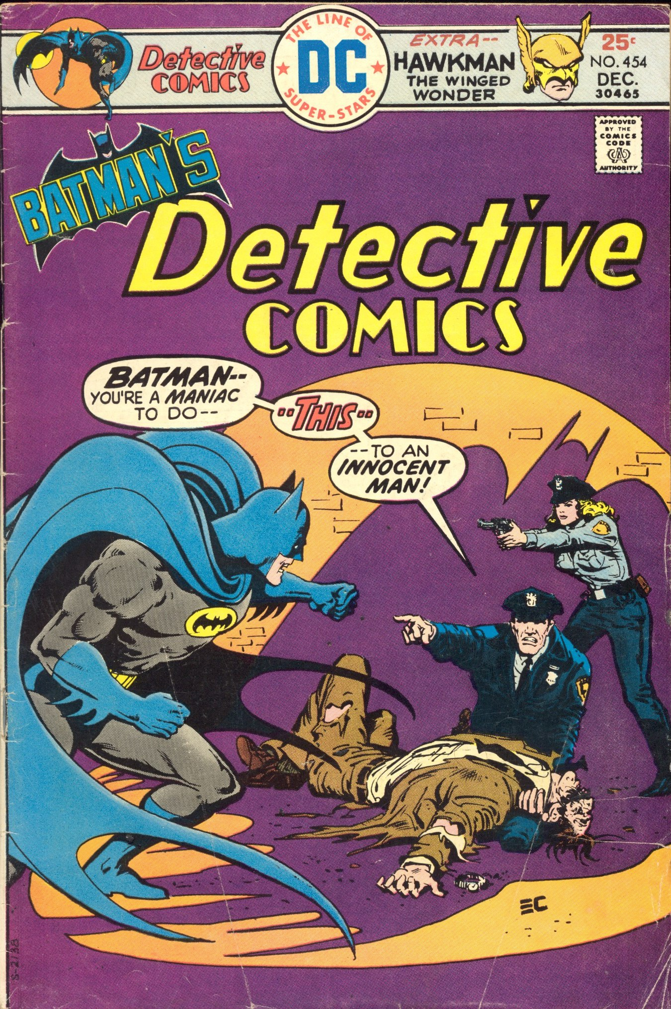Detective Comics (1937) 454 Page 0