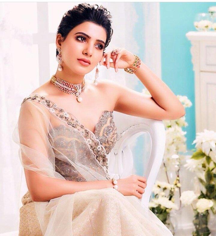 Actress SamanthaRuthuPrabhu Akkineni Latest HD Images