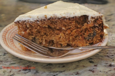 Easy Carrot Cake With Cream Cheese Frosting #HomeMadeZagat