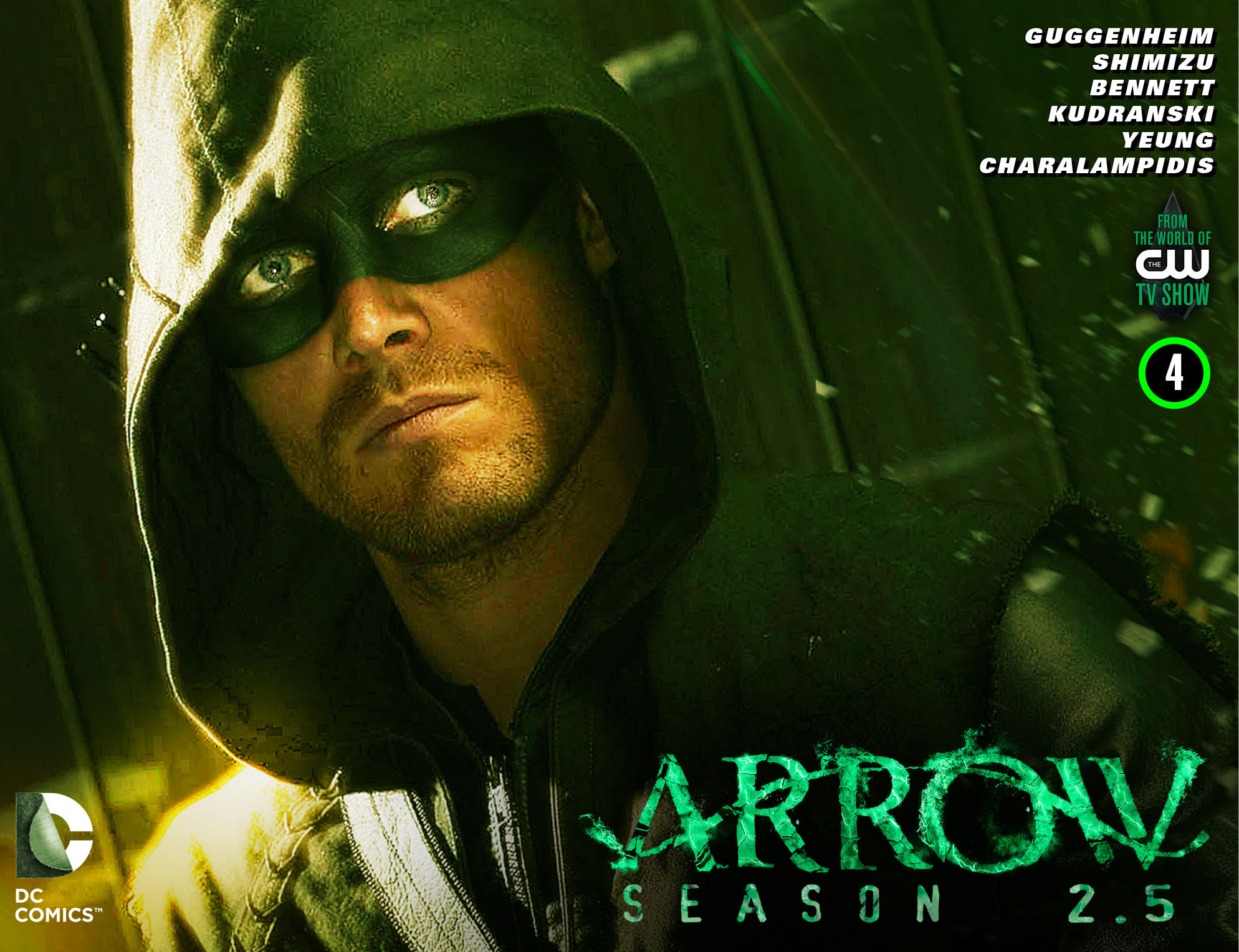 Read online Arrow: Season 2.5 [I] comic -  Issue #4 - 1
