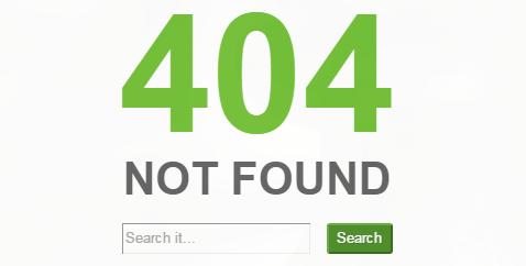 Custom 404 Page Thesis