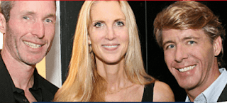 GOProud board members (left to right) Christopher Barron, Ann Coulter, and Jimmy LaSalvia