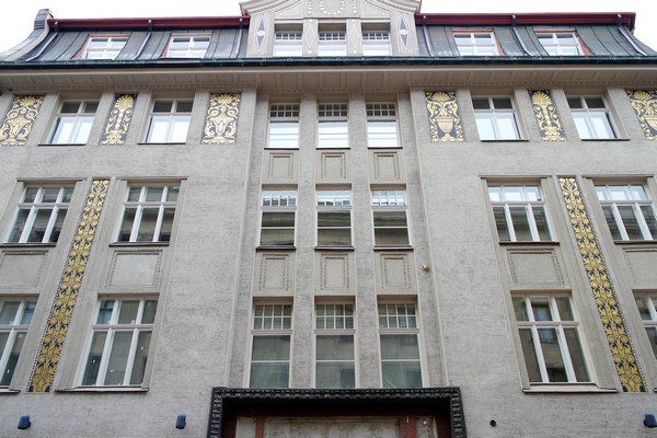 riga art nouveau vieille ville old town centre historique