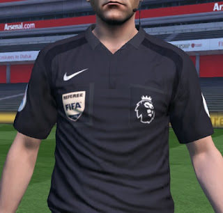PES 2016 Premier League 16-17 Referee Kits by yxussef