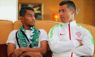 Ini Komentar Martunis Soal Cedera Cristiano Ronaldo