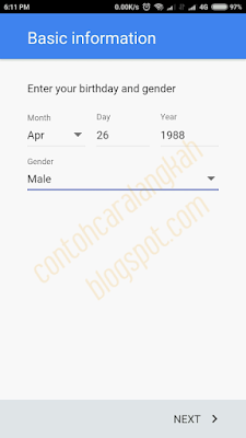 Cara Mendaftar Email Gmail di HP Android Terbaru