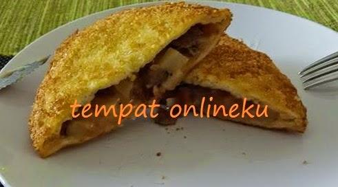 resep roti tawar isi daging kentang
