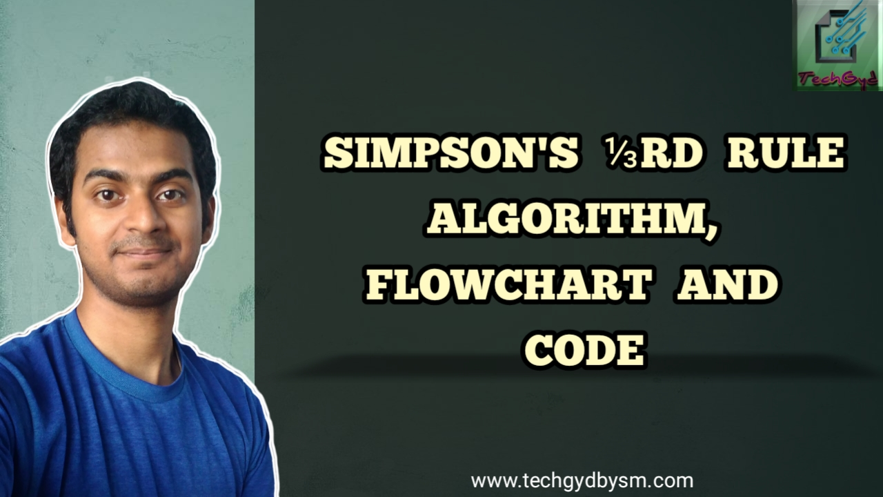 Simpson's One-Third Rule