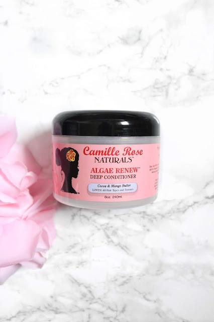 Product Review: Camille Rose Naturals Algae Renew Deep Conditioner | HairliciousInc.com