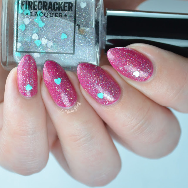 Firecracker Lacquer My Heart Belongs to You Holo