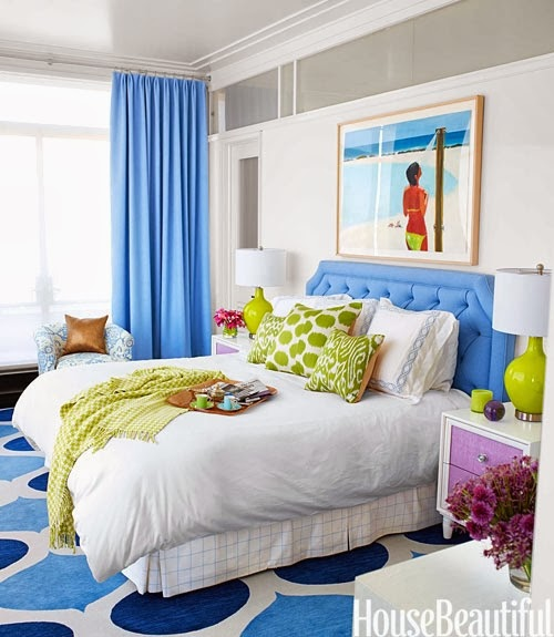 coastal bedroom Manhattan